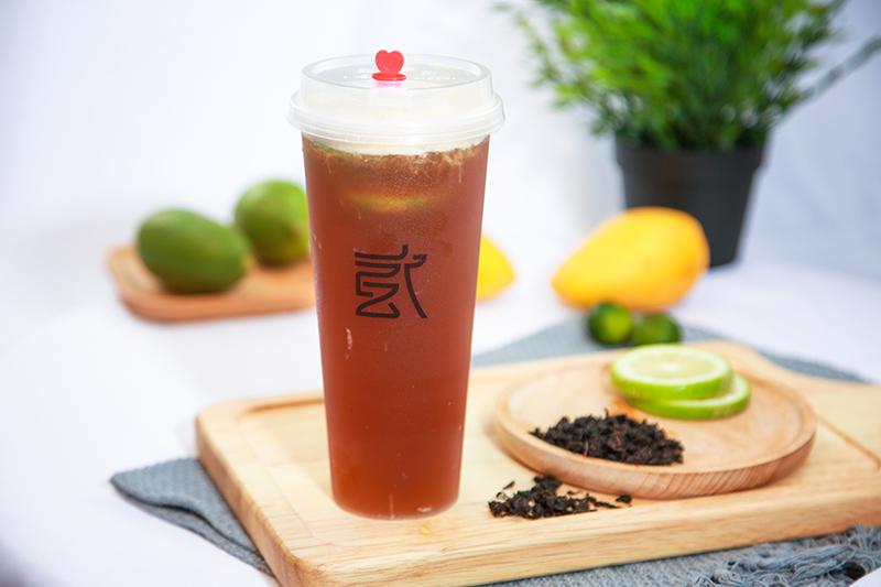 """贰茶柠檬茶好""""渣""""呦,我好喜欢!"""